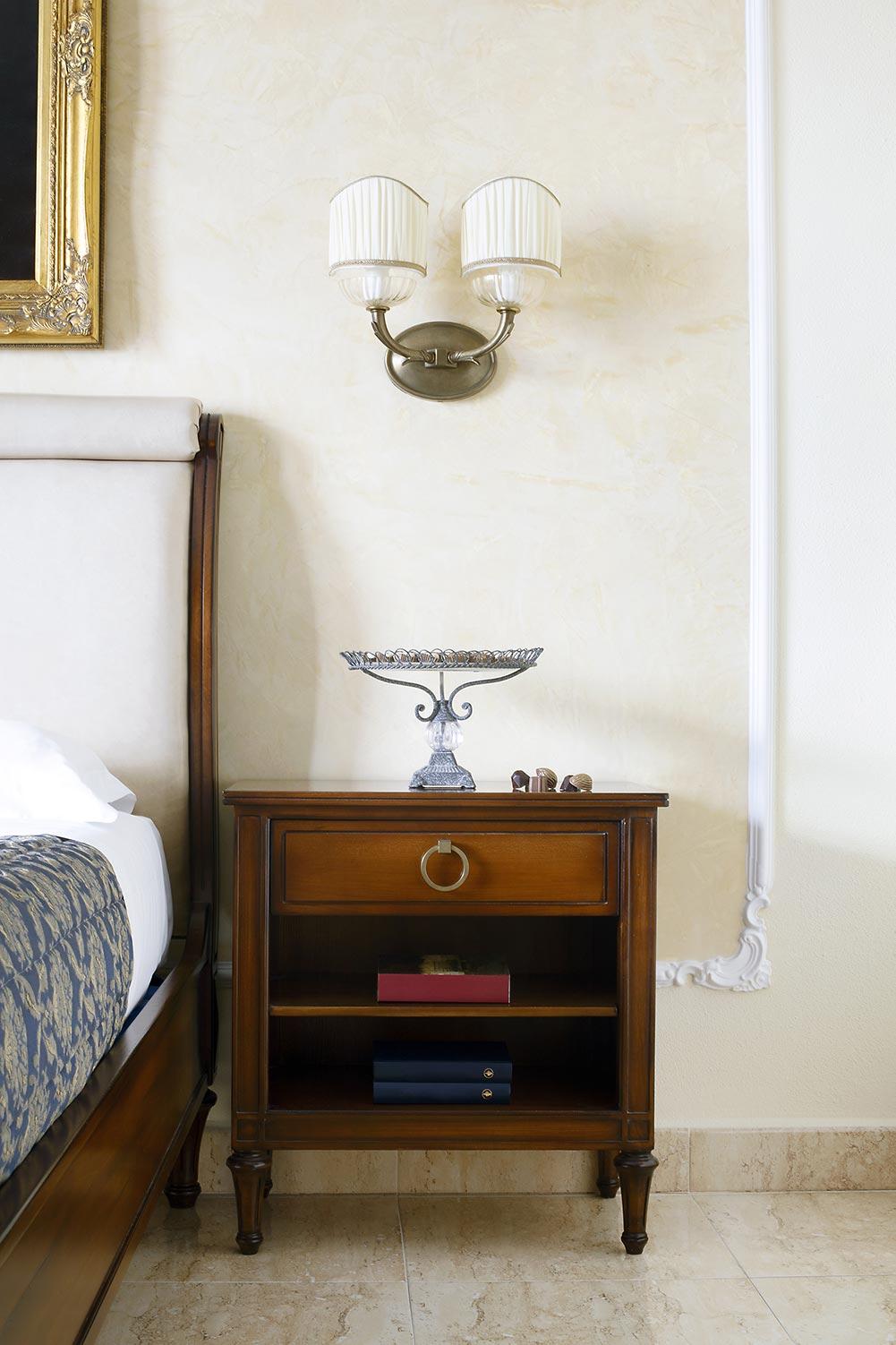 Chambre : détail décor